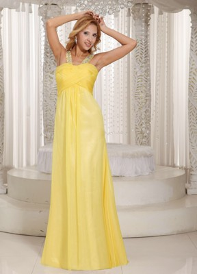 Yellow Prom Dresses